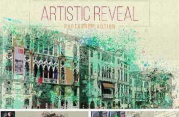 Artistic Watercolor Reveal Effect 855039 2
