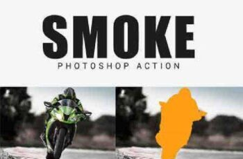 Smoke Photoshop Action 17530990