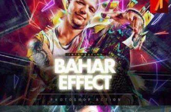 Bahar Effect Photoshop Action 881131 3