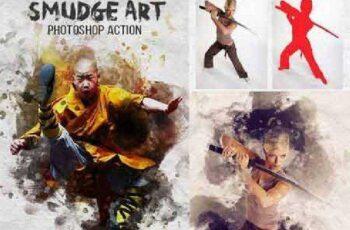 Smudge Art Photoshop Action 17572090 3