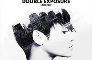 Double Exposure Photoshop Mockup 17506226 3