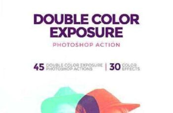 Double Color Exposure Photoshop Action 17477684 5