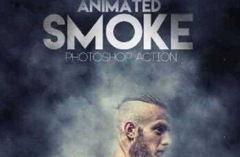 Animated Smoke Photoshop Action 17527624 4