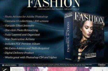 Actions for Photoshop Fashion 886815 4