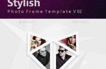 Stylish Photo Frame Template v02 17036113