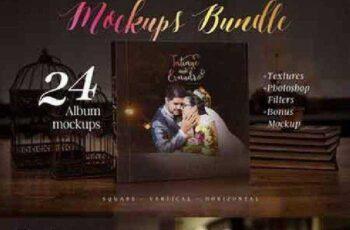 Photography album mockup bundle 909651 10