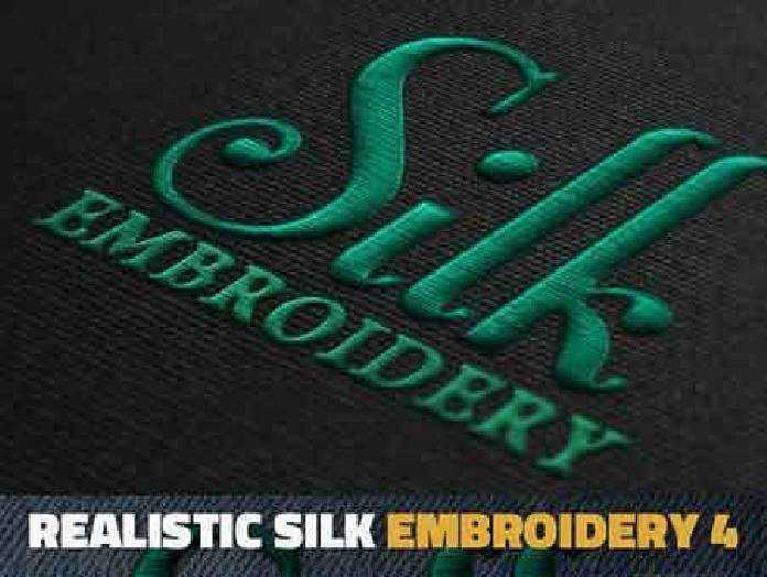 Silk Embroidery Effect Photoshop Action 18532364 Free Psd Download