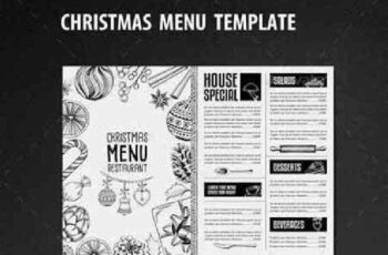 Christmas Restaurant Template 13528081 6