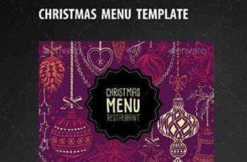 Christmas Restaurant Template 13306553 2