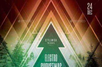 Electro Christmas Flyer 18633825 3