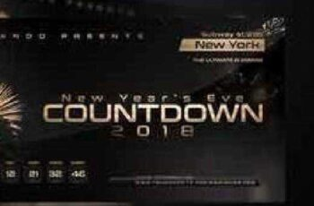 New Year Countdown Flyer Template 961770 5