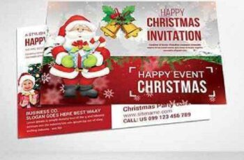 Christmas Postcard Templates 938378 6