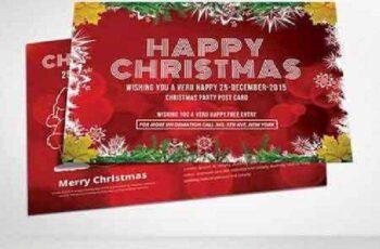 Christmas Postcard Templates 938380 8