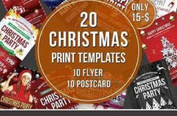 Christmas Flyer & Postcard Bundle 972729 5