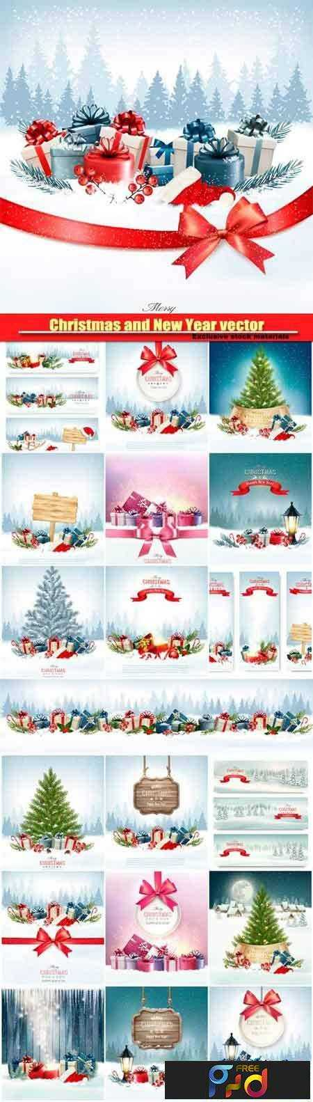 freepsdvn-com_1480653116_christmas-and-new-year-vector-holiday-background-christmas-tree-and-presents