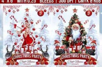 Christmas Party Flyer 18616879 8