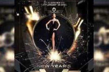 New Year Flyer Template 930220 7