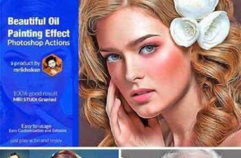 Beautiful Oil Painting Effect 1082165 11