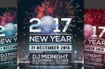 New Year Flyer 1036270 3