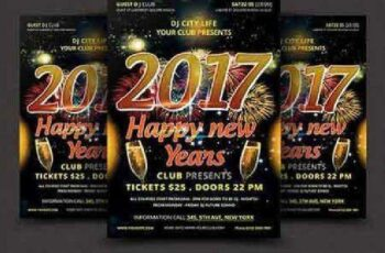 New Year Celebration Event Template 922589 3