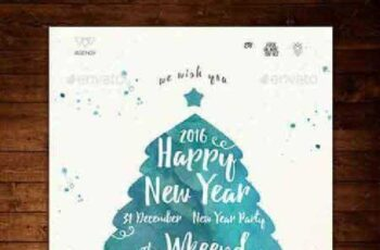 New Year Flyer 13852253 2