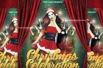 Christmas Celebration Flyer Template 1098283 2