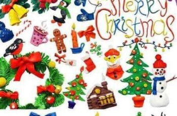 Plasticine Christmas set 1062887 2
