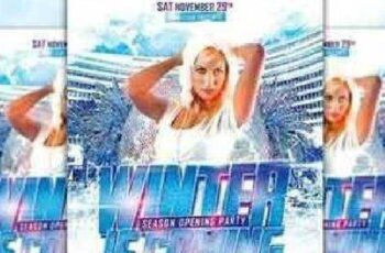 Winter is Coming Party Flyer 1065603 6