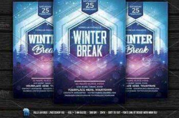 Winter Break Flyer 1064686 6