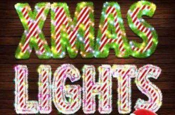 Christmas Lights - Photoshop Action 19135978 4