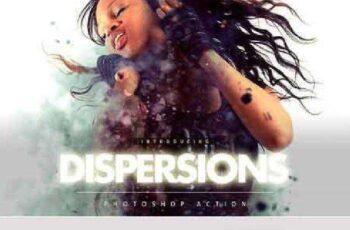 Dispersions Photoshop Action 1102610 6