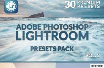 30 Premium Lightroom Presets Vol. 2 8750901