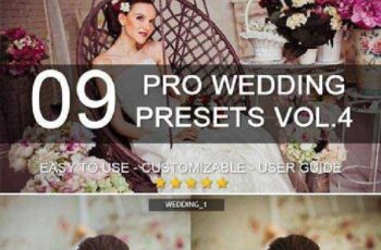 9 Pro Wedding Presets vol.4 7198261 6