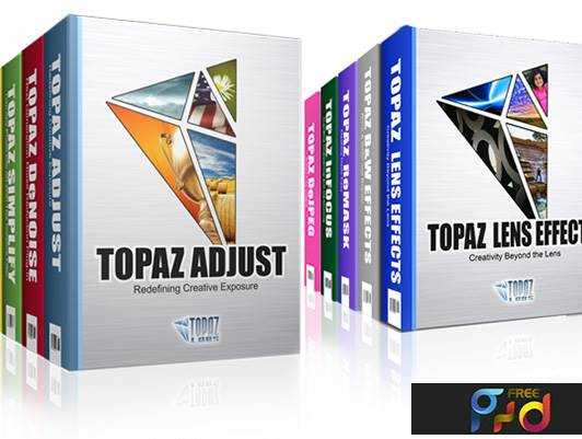 Topaz Labs Photoshop Plugins Bundle 19 01 2017 - FreePSDvn