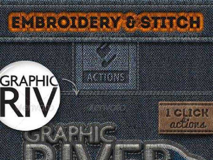 Embroidery And Stitching Photoshop Creation Kit 6990240 O FreePSDvn