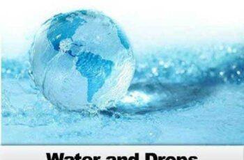 Water and Drops - 20 JPEG, 2 EPS, 2 AI 5