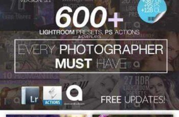 600 LIGHTROOM Presets Mega Bundle 228245 3