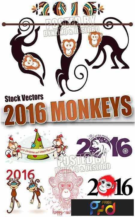 freepsdvn-com_1447037845_2016-monkey-3-stock-vectors