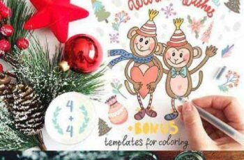 Adorable Monkeys + 465552 5