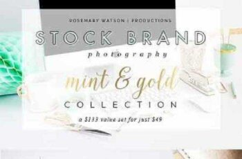 Limited Edition Mint&Gold Collection 204330 4