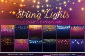 String Lights Clipart 686195 3