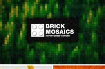 40 Brick Mosaics Actions 29845 5