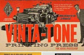 Vinta-Tone Printing Press Action 39134 6