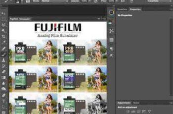 Fujifilm Simulator (PS Panel) 94762