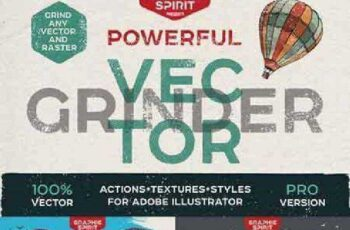 POWERFUL Vector GRINDER Toolkit 743933 4