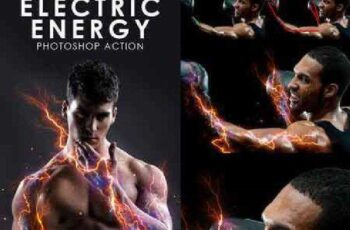 Electric Energy Photoshop Action 16607820 7