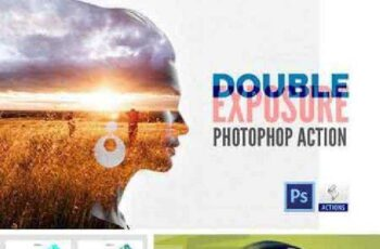Double Exposure Photoshop Action 765454 4