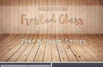 Frosted Glass Effects Actions 764139