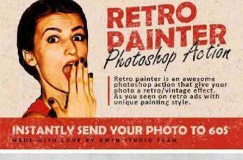 Retro Painter - Photoshop Action 739961 15