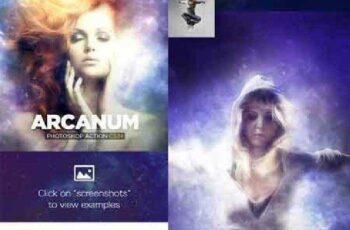 Arcanum Photoshop Action CS3+ 16817438